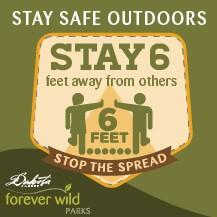 Dakota County Stay Safe Outdoors Sign
