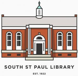 South St Paul Library Logo