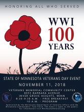 Veterans Day Program Poster