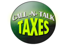 Call-n-Talk Taxes Logo