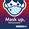 Mask Up Minnesota Icon